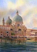 Santa Maria Morning II (Watercolour) 34x26cm