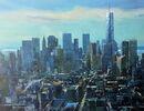 Manhattan Rooftops (Acrylic) 34x42cm