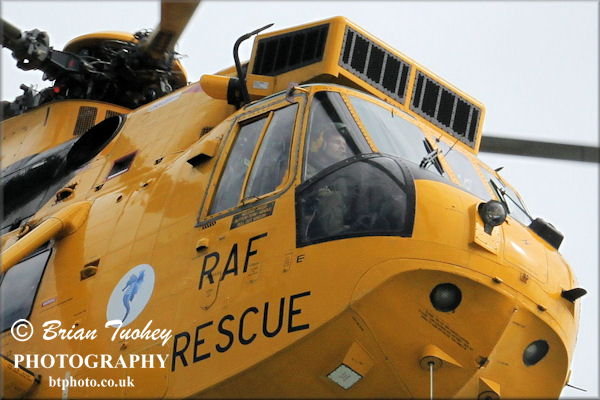 Air sea rescue display