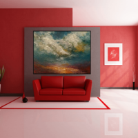 modern landscape with an abstract feel