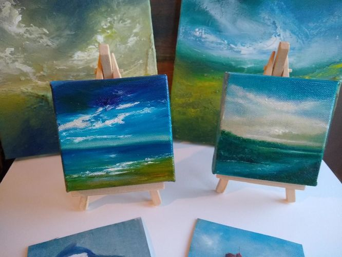 Small art works