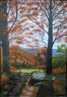 Autumn sunshine (SOLD)