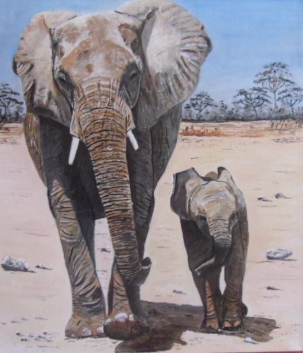 elephants (SOLD)