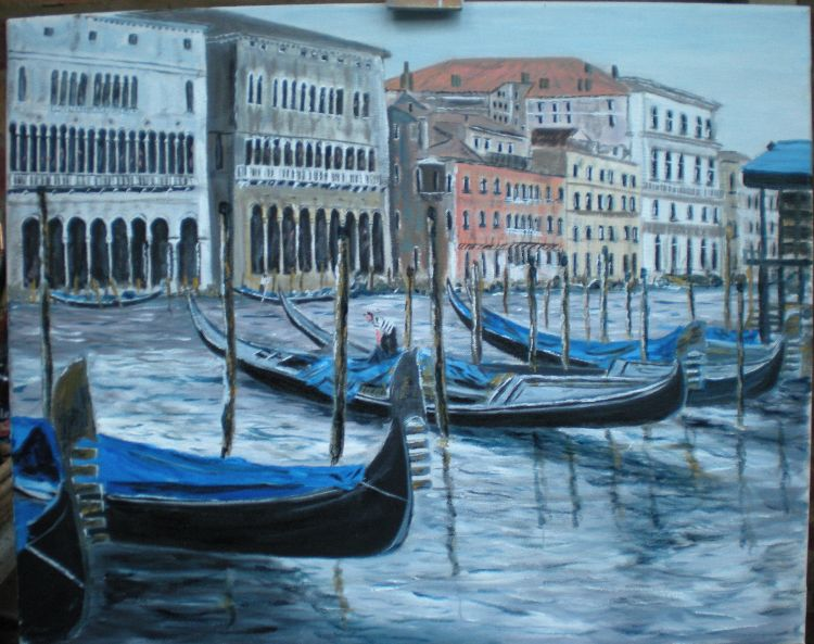 quiet on the grand canal (SOLD)