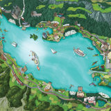 Lake Brienz Overview - Switzerland