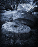 Old mill stones