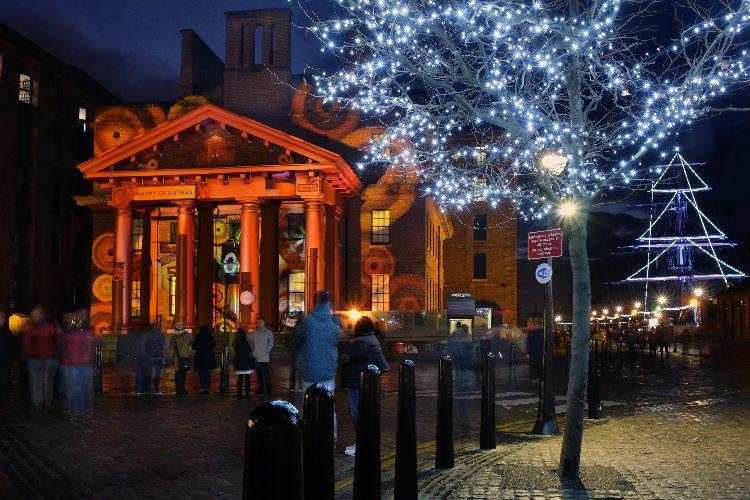 Albert Dock Lights