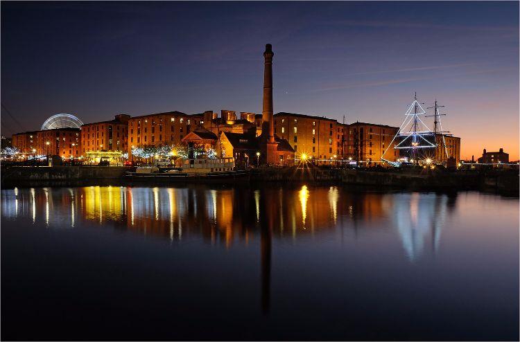 Albert Dock Reflection