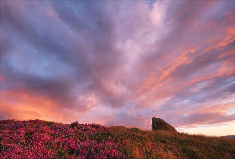 Big Sky over Cloughmore Stone Rostrevor