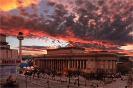 Big Sky over St. George's Hall