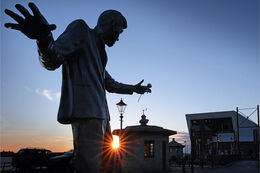 Billy Fury at sundown