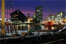 Canning Dock View Liverpool