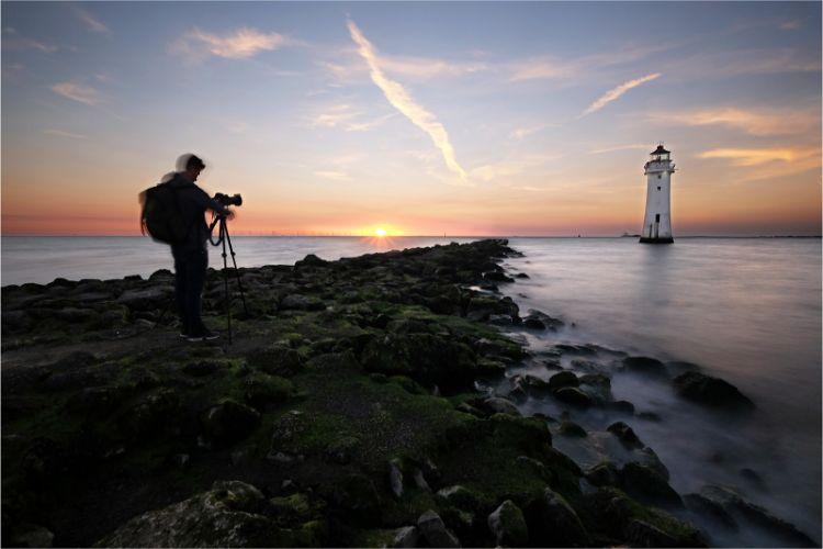 Capturing sundown