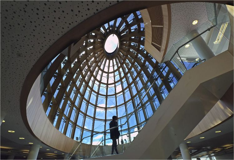 Central Libriary Dome Liverpool