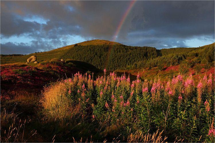 Cloughmore Rainbow Slieve Martin Co Down