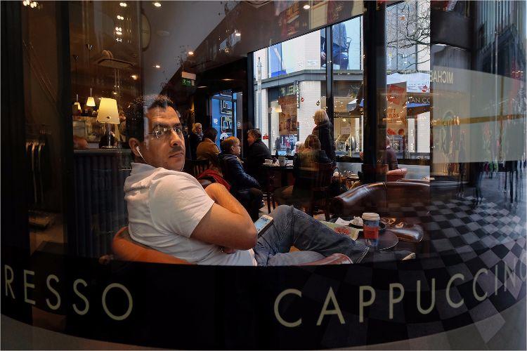 Coffee Shop man