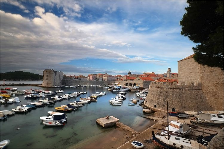 Dubrovnik Old Horbour view