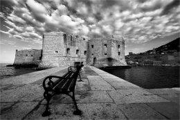 Dubrovnik b&w
