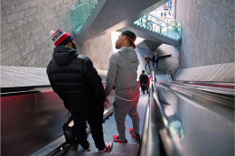 Escalator people