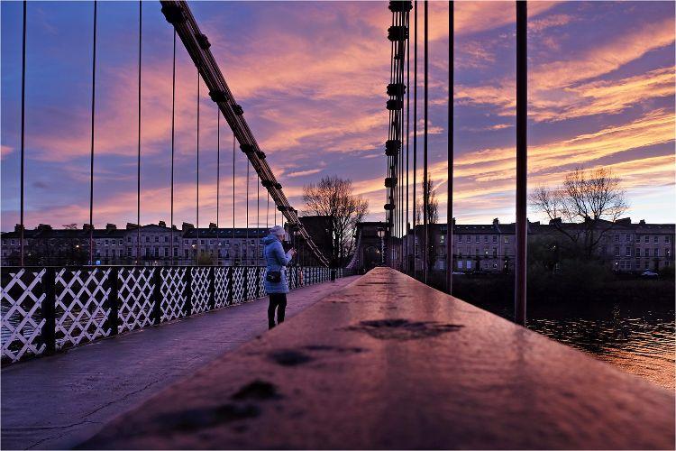 Footbridge over the Clyde Glasgow