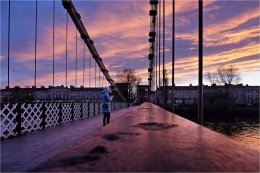 Footbridge over the Clyde Glasgow