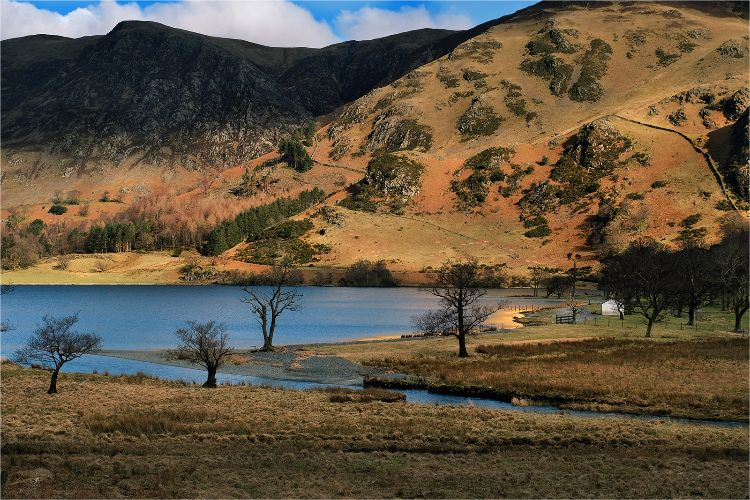 Golden colours of Buttermere