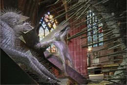 'Golgotha' by David Mach at Chester Cathedral