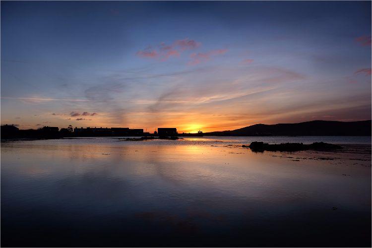 Greencastle Sunset Co Down