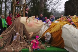 Gulliver at Armagh's St Patricks Day