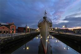 HMS Caroline in Belfast