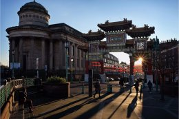 Happy New Year from Liverpool Chinatown