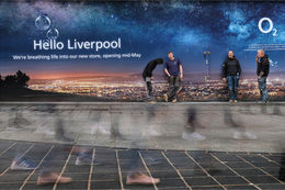 Hello liverpool footfall
