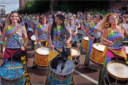 Katumba Samba Band at Mersey River Festival