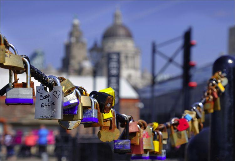 Liverpool Love Locks