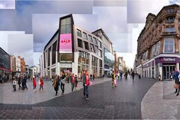 Liverpool city centre panorama