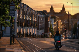 Liverpool evening light