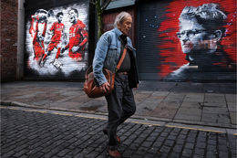 Liverpool street murals