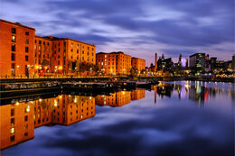 Liverpool twilight