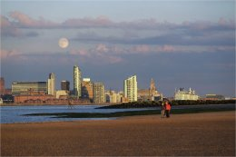 Merseyside evening