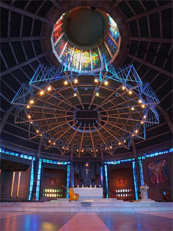 Metropolitan Cathedral baldacchino Liverpool