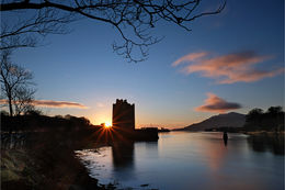 Narrow Water winter sunrise