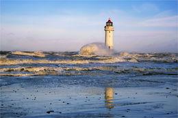 New Brighton stormy seas