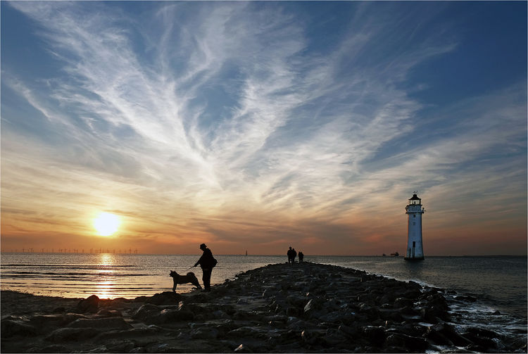 New Brighton sunset