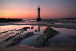 Perch Rock Light House Merseyside