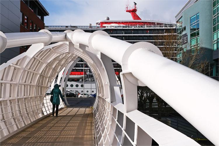 Princes Dock Footbridge Liverpool