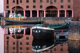 Reflections of Albert Dock