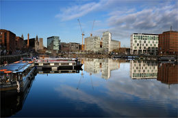 Salthouse Dock Cityscape