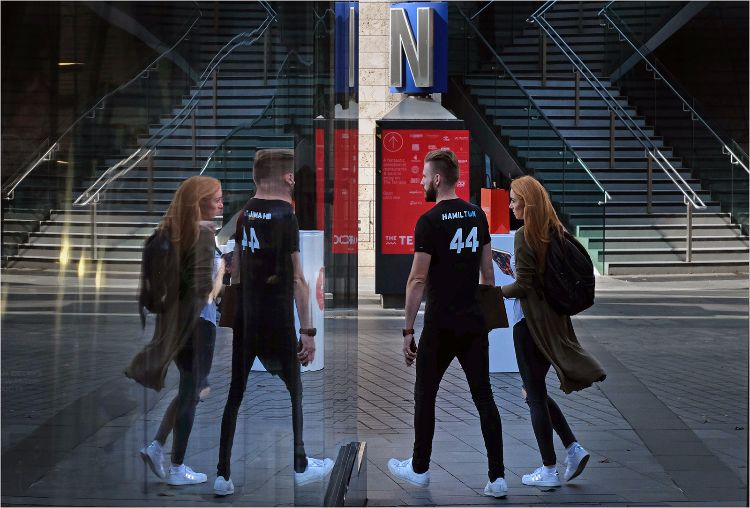 Seeing Double at Liverpool One