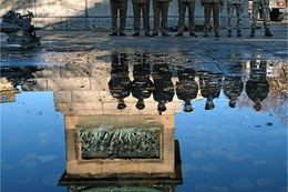 Seven Soldiers reflecting