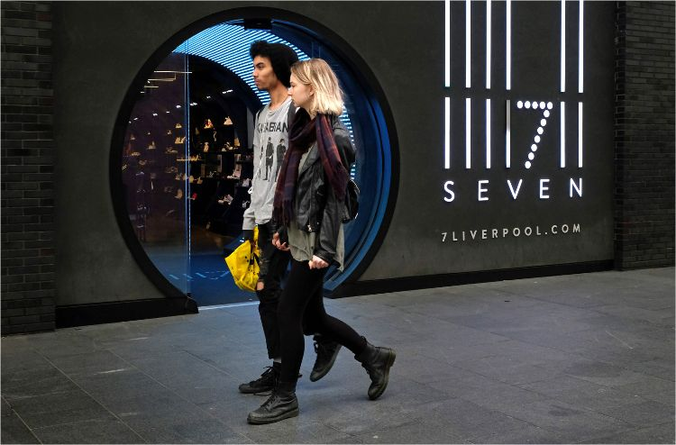 Seven at Liverpool One